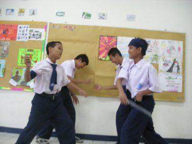 Perang Diponegoro ala anak sekolahan