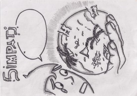 Ahmad Ilham Akbar - komik SIMPATI
