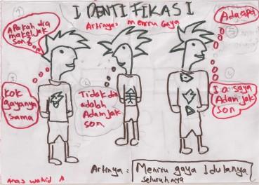 Anas Wahid Ariansyah - komik IDENTIFIKASI