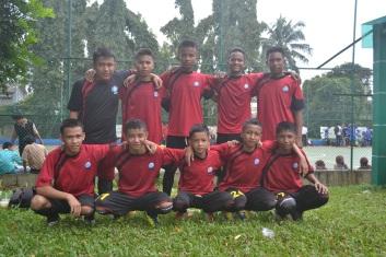 Tim Futsal SMART Ekselensia Indonesia angkatan 8 (kelas X)
