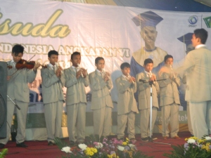 wisuda SINEMA - agkatan 6 SMART EI , Tim Ensemble ..
